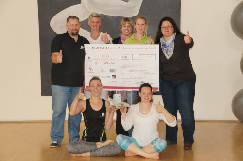 KAISERFit Hannover Sweat-for-Charity Event mit Spendencheck